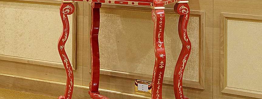R106 - Mobiletto Colorato rettangolare - Rectangular colored small furniture