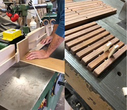 Handmade manufacturings of woodworking.