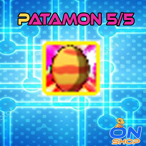 Patamon DigiEgg 5/5 (Champion)