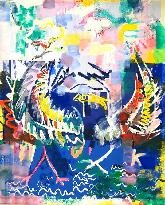 Dipinto Le Ali della Libertà intero
