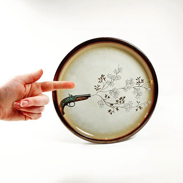 A peaceful protest platter from the Contemplate Collection