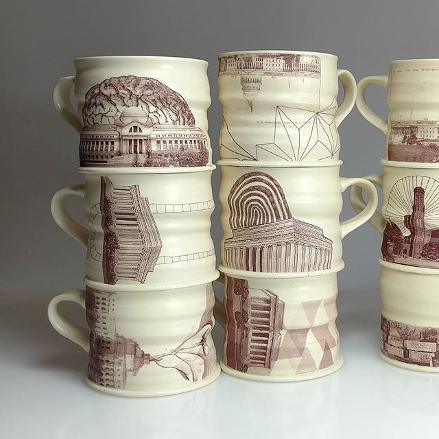 DC mugs from my Souvenir Series
