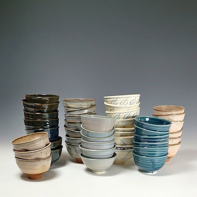 I'm donating 45 bowls to SOME (So Others Might Eat). Every year they host 2 'Empty Bowls' events