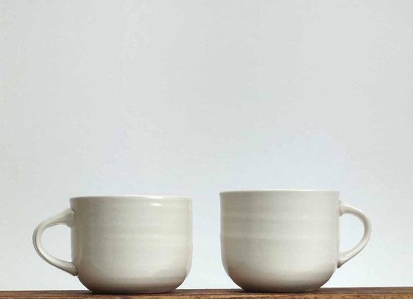 Porcelain Curve Cup