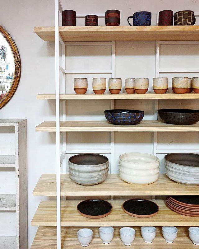 New studio shelves!