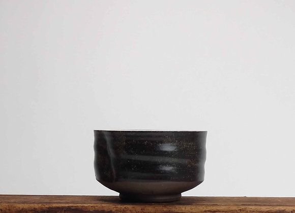 Brown Stoneware Teabowl