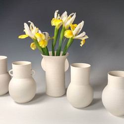 Porcelain vases for spring!_._._._._._