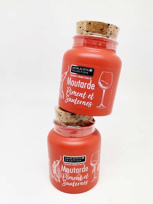 Moutarde au Piment d'Espelette & Sauterne