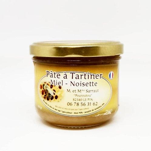 Pâte à tartiner miel/noisette torréfiées