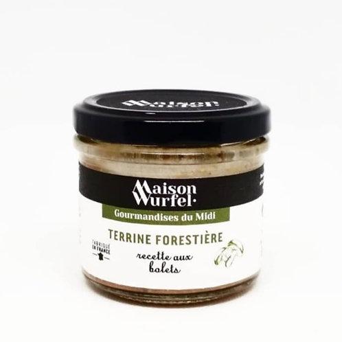 Terrine Forestière recette aux bolets