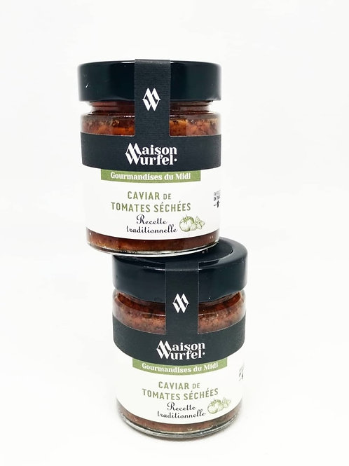 Caviar de Tomates Séchées traditionnelle