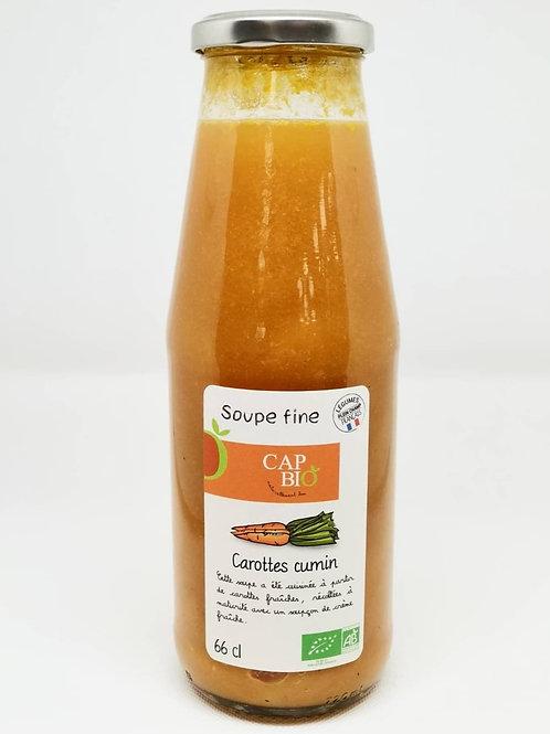 Soupe Carottes Cumin