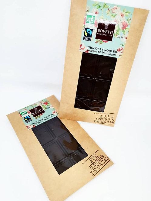 Tablette Chocolat noir 73 %