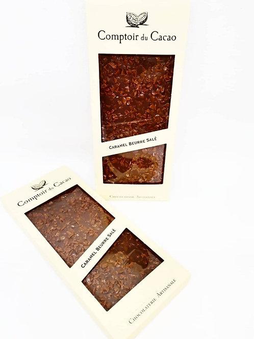 Tablette Chocolat Lait & Caramel Beurre Salé