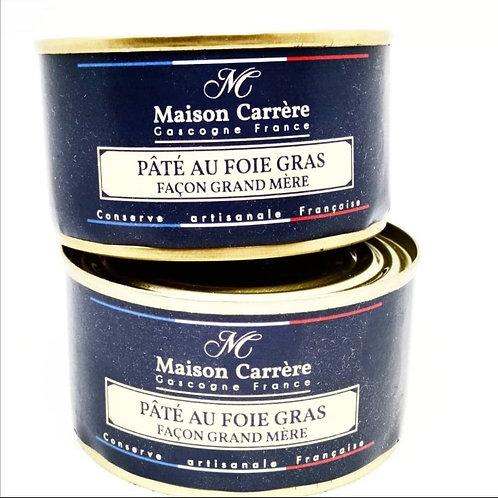 """Pâté au foie gras """"façon grand-mère"""""""