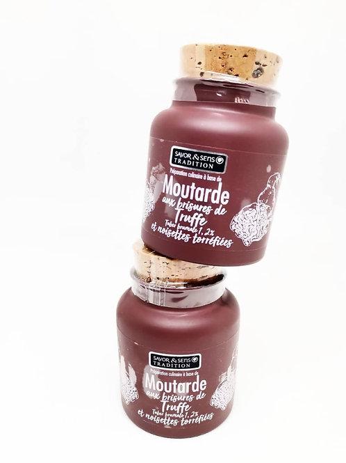 Moutarde aux brisures de Truffe & Noisette torréfiées