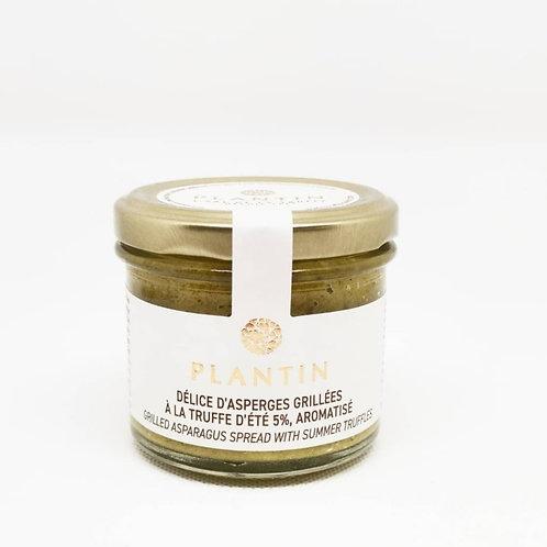 Tartinables d'asperges grillées à la truffe d'été