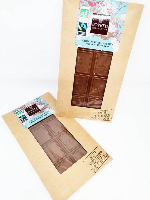Tablette Chocolat au lait 39%