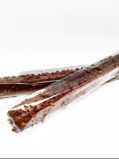 Guimauve Enrobée de Chocolat Caramel