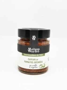 Caviar de Tomates Séchées au Confit d'Oignons