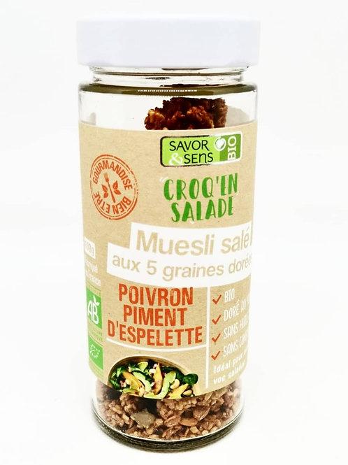 Muesli Poivron & Piment d'Espelette