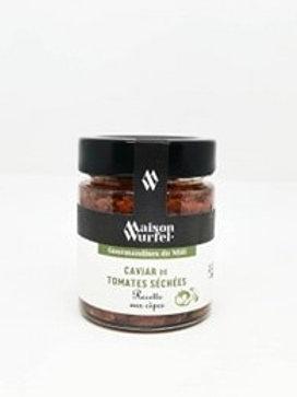 Caviar de Tomates Séchées aux Cèpes