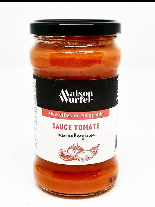 Sauce Tomate aux Aubergines