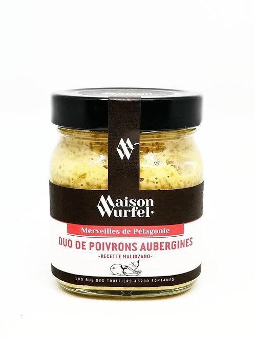 Duo de Poivrons/Aubergines