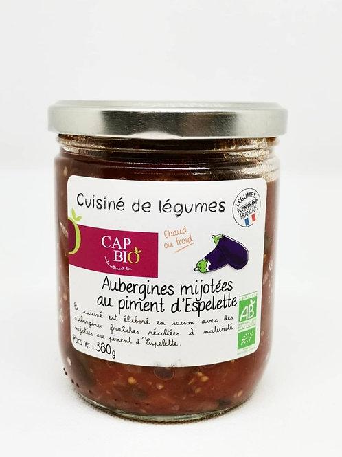 Aubergines Mijotées au Piment d'Espelette