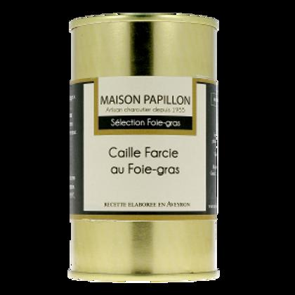 Caille Farcie au Foie-Gras