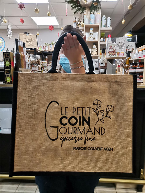 "Cabas ""Le Petit Coin Gourmand"""