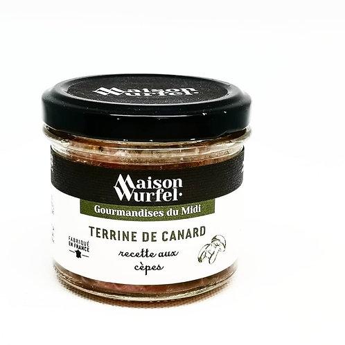 Terrine de Canard recette aux Cèpes