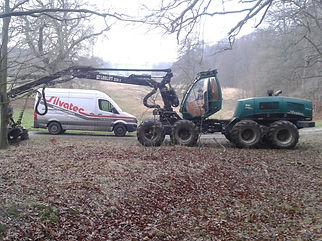 Au mois de janvier, un mécanicien Silvatec sera en intervention en France.