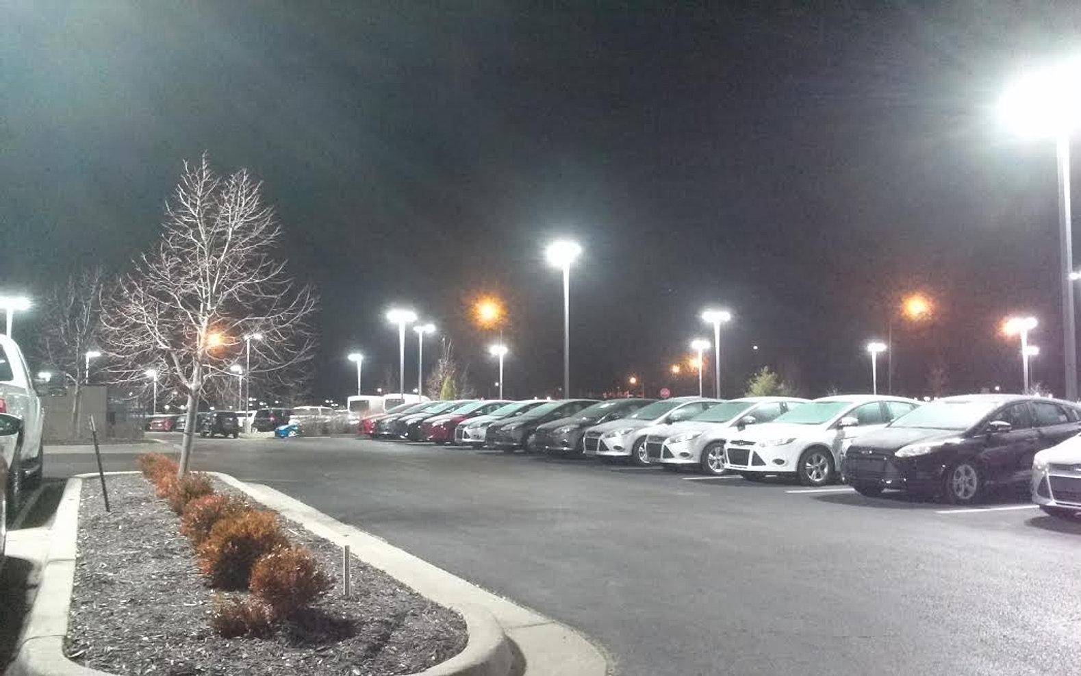 Rothlighting outdoor parking site lighting car dealer lot lighting aloadofball Gallery