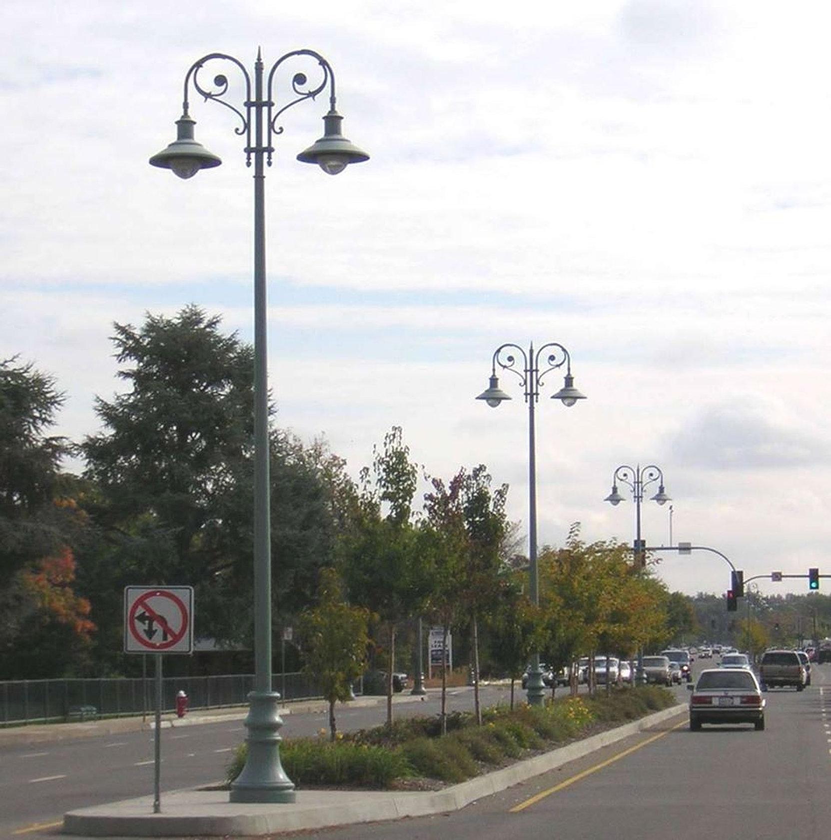 Decorative Light Poles rothlighting | decorative poles and metal fab