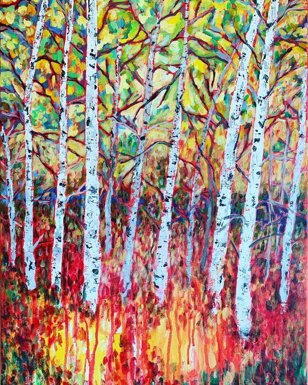 Birch Trees - $225
