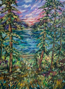 The Lake - Available through Plum Bottom Gallery, Egg Harbor WI