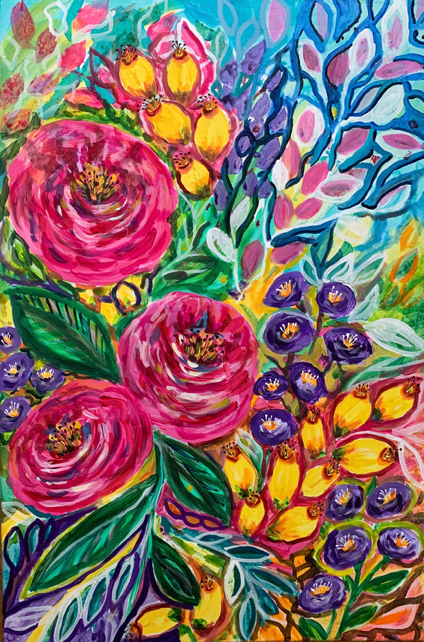 Happy Blooms - $400