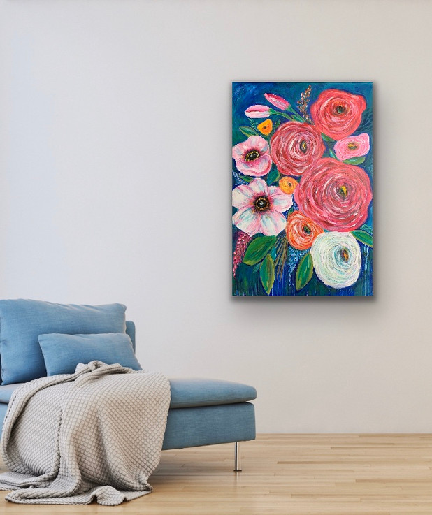 Big Spring Flowers - SOLD