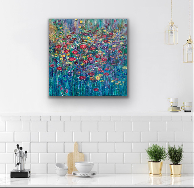 Flower Power - Room View - SOLD
