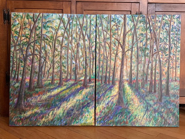 Into the Woods - $200 each piece