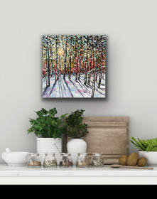 Winters Bliss - Available at Plum Bottom Gallery, Egg Harbor WI - SOLD