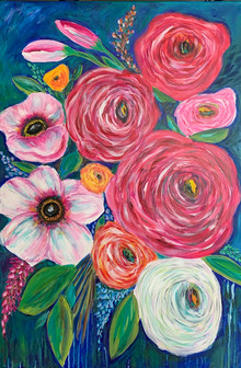 Big Spring Flowers - SOLD