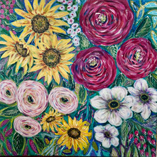 Rise and Shine - Available at Plum Bottom Gallery, Egg Harbor, WI