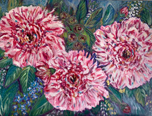 Peonies on Parade - $225 - SOLD