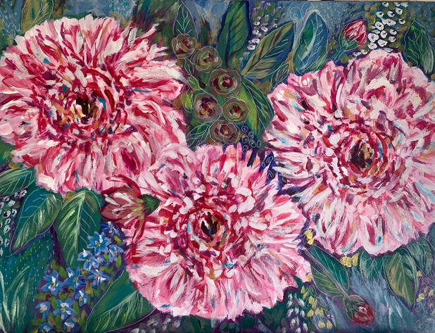 Peonies on Parade - $225