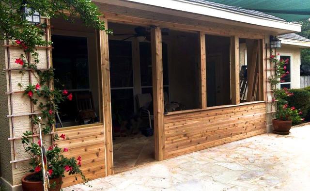 Enclosed Patio Installation