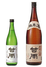 甘雨 純米酒1800ml