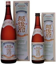 白龍 特別純米酒 越後府1800ml