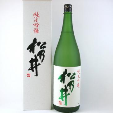 松乃井 純米吟醸1800ml